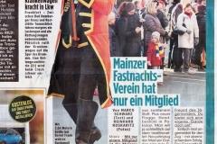 BILD Ausgabe Rhein/Main 2.1.2020