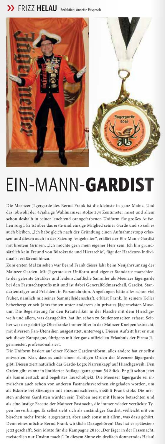 FRIZZ Magazin 02/15