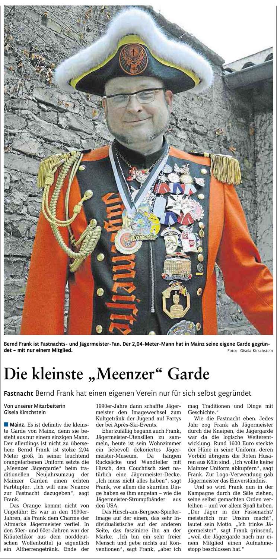 Rhein-Zeitung 05.01.2016