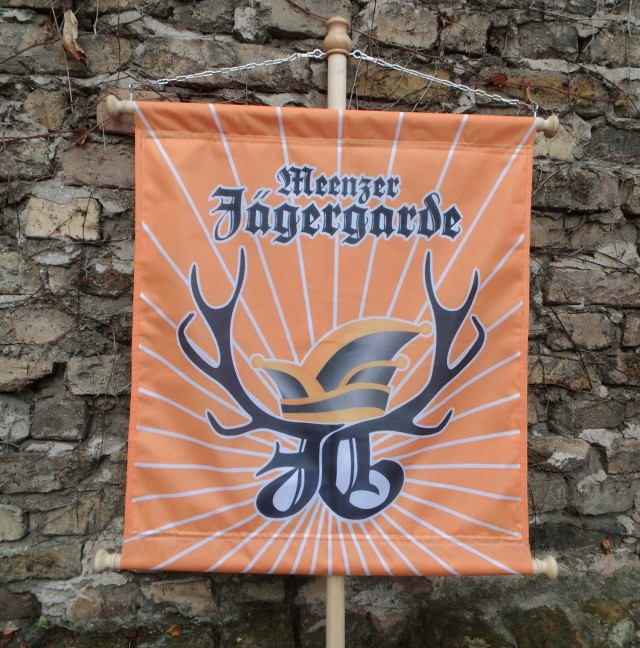 Fahne Meenzer Jägergarde
