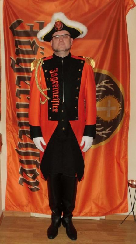 Meenzer Jägergarde Uniform