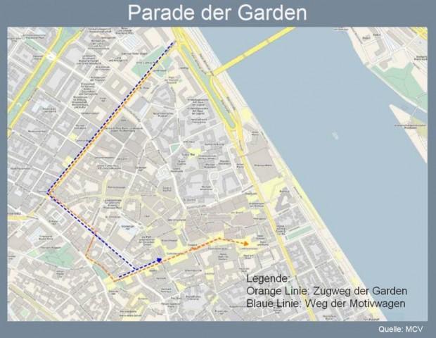 Parade der Garden