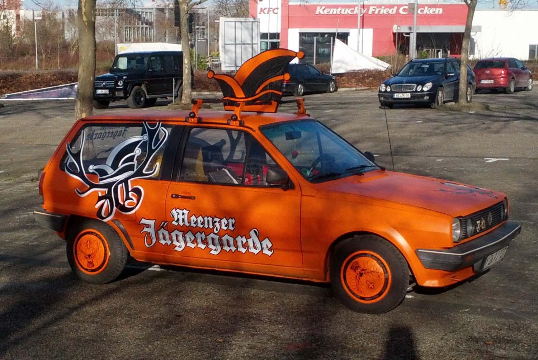 Jägergarde Mannschaftsbus